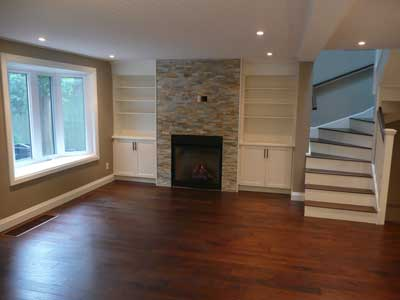 Remodeling in Blue Mountain, Ontario