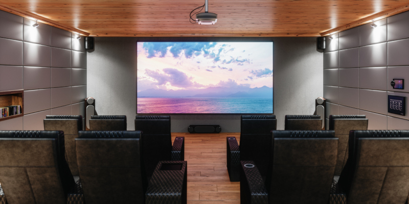 Media rooms are fun additions to any home